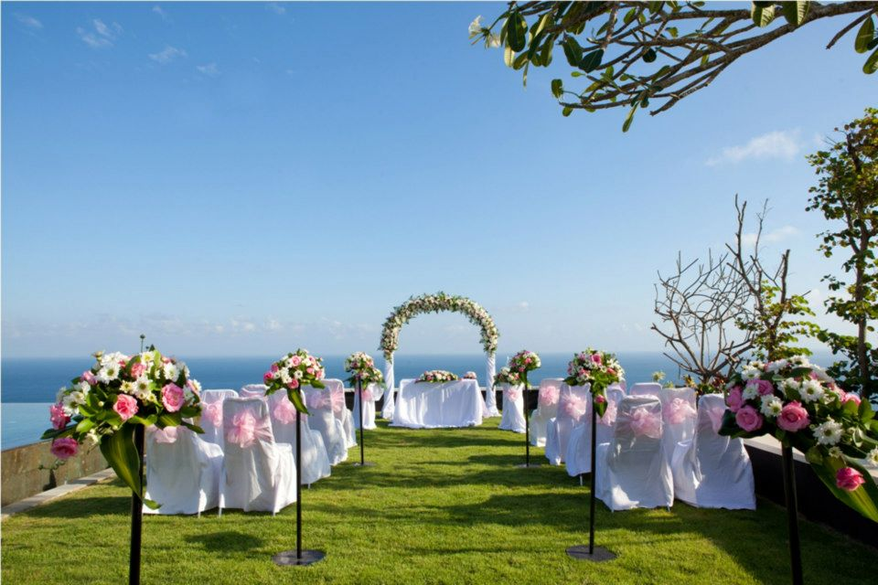 The sanctus villa bali event and wedding planner for Bali mariage location