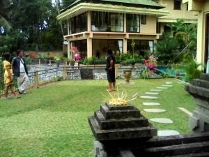 Garden for wedding Mandap