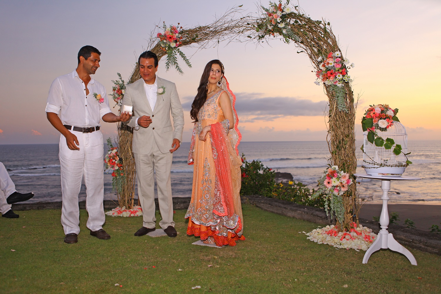 fusion wedding india Bali