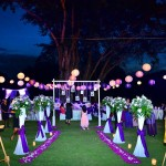 Garden wedding Sector