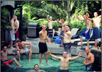 bachelor party in Bali
