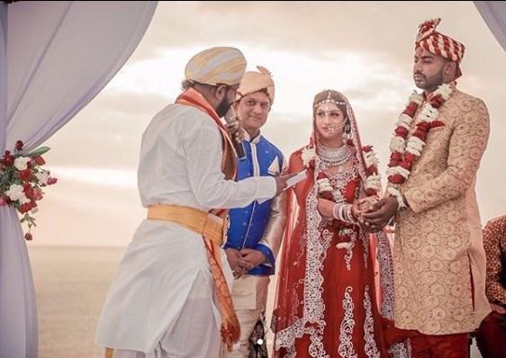 Indian Wedding Ceremony Pooja