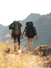 Couple Backpacker