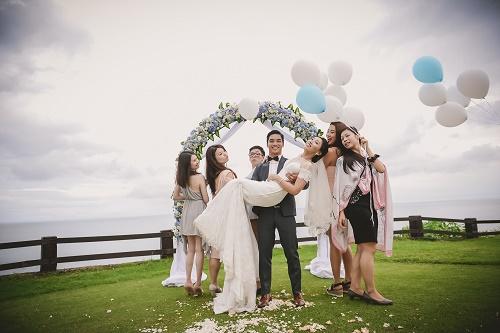 Cliff Top Bali Wedding