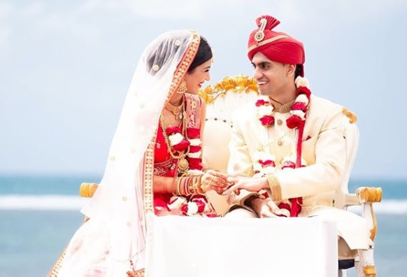 Indian Beach Wedding at Grand Mirage resort