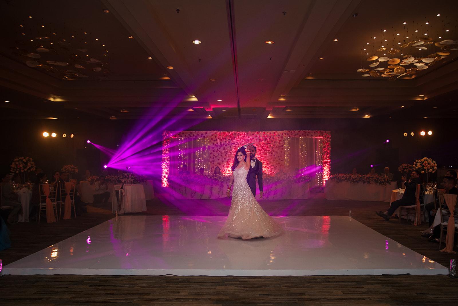 First Dance Reception