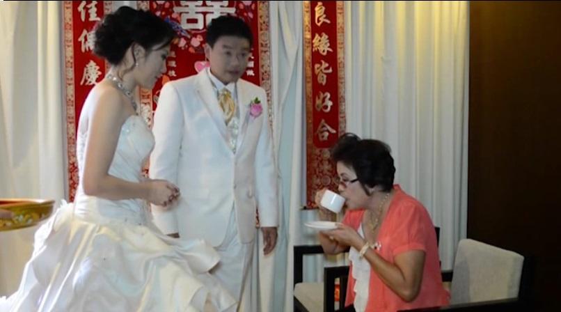 tea pai ceremony, upacara minum teh
