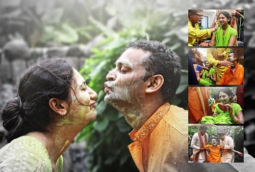 Gujarati wedding - mandap maurat ritual